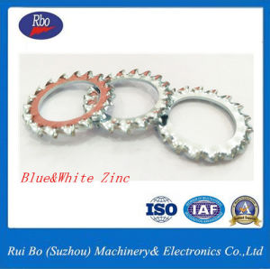 Stainless Steel Carbon Steel DIN6798A External Serrated Lock Disc Washer Flat Washer pictures & photos