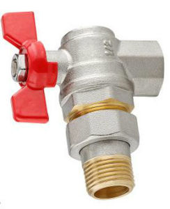 Male Threaded Angle Brass Valve pictures & photos