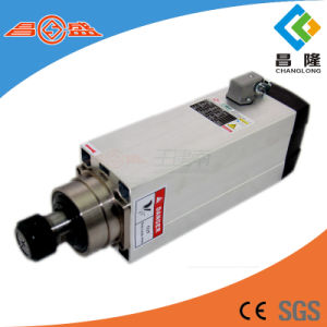 Gdz Air Cooling Spindle Series 7.5kw Square Three-Phase Asynchronous AC Spindle Motor for Wood Carving pictures & photos