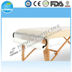 Disposable Waterproof PP SMS PP+PE Paper Bed Sheet Roll pictures & photos