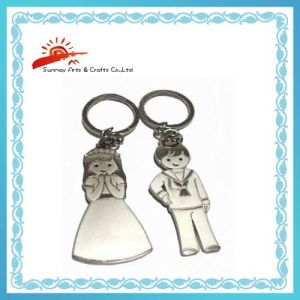 Metal Keychains for Wedding Gifts (SMK1004)China Keychains Gifts ...