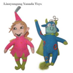 Lovely Clown 2015 New Plush Soft Stuffed Doll Toy