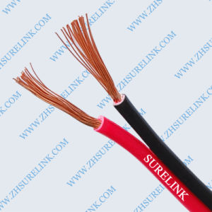Transparent and PVC Insulation Red & Black Cable pictures & photos