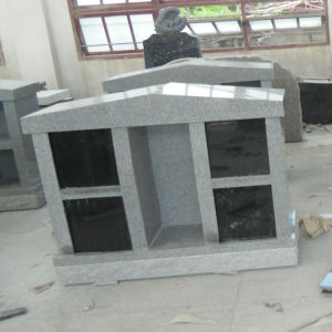 Grey Granite 4 Niche Columbaria with Alcove pictures & photos