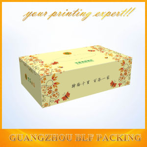Printed Rectangle Tissue Paper Box Design pictures & photos