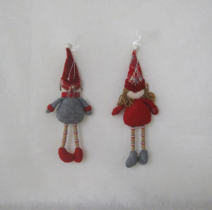 """12""""H Boy and Girl Christmas Decoration Doll-2asst pictures & photos"""