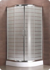 Dubai Hot Selling Shower Enclosure with Acid Etched Glass pictures & photos
