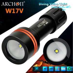 Photography Video Light with Diving Holder, Video Lighting Equipment, Diving Video Light W17V pictures & photos