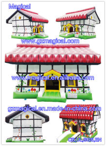 Cute Inflatable Castle Small Christmas House (MIC-854) pictures & photos