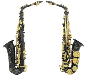 Black Nickel Plated &Silver&Nickle Plated Eb Alto Sax Saxophone (WSS-896)