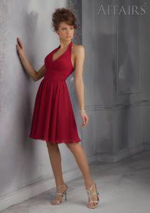 Discount Halter Bridesmaid Fashion Dresses (FD14005) pictures & photos
