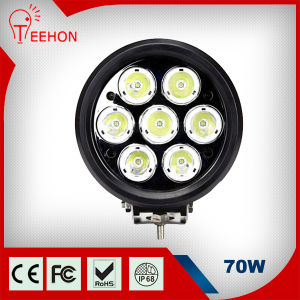 "6"" 70W Round Scania LED Truck Lamp Work Light pictures & photos"