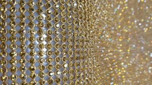 45*120 Cm Aluminum Mesh Hot Fix Rhinestone (pan-l-001)