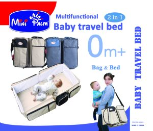 2 In1 Portable Crib Baby Bag, Collapsible Variable Package, Multifunctional Baby Travel Bag&Bed Folding Bed Anti-Mosquito Insulation Game Handle Shoulder 160101 pictures & photos