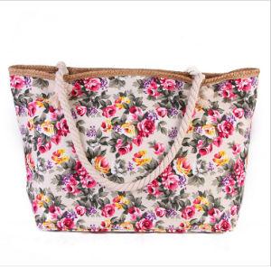 Flower Design Canvas Bag pictures & photos