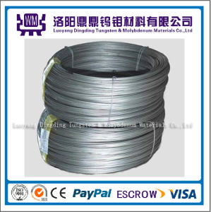 White Cleaned High Temperature Molybdenum Wire 99.95% pictures & photos