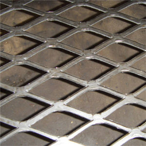 Flat Diamond Expanded Aluminum Metal Mesh pictures & photos