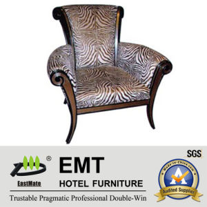 Luxurious Wooden Hotel Chair (EMT-HC04) pictures & photos
