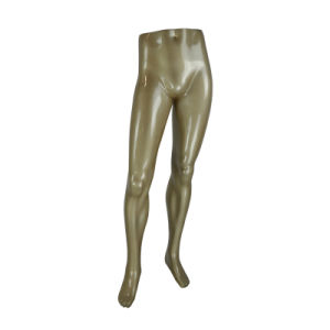 Standing Male Window Mannequin Leg for Underwear Display pictures & photos