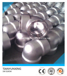 ASME B16.11 Steel Forged Sw/Threaded Screw Elbow pictures & photos