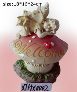 Polyresin Sculpture Gift Angel for Garden Decoration pictures & photos