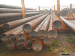 Qingdao Sangao Seamless ERW Saw Oil Gas Steel Pipe pictures & photos