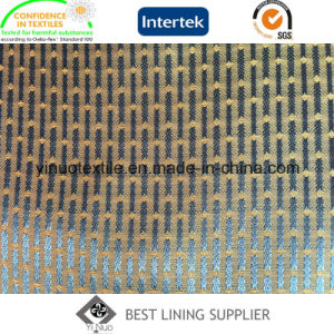 Eco-Friendly 100 Polyester Shine Satin Lining for Men′s Garment pictures & photos