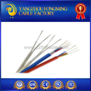 High Temperature Multi Core Tin Copper Braided Silicone Rubber Coated Electrical Shield Wire pictures & photos