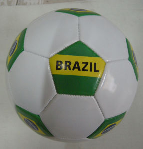 Brazil Country Flag Soccerball pictures & photos