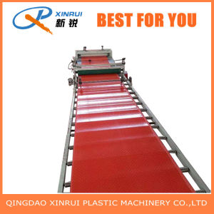 PVC Plastic Floor Mat Extrusion Equipment pictures & photos