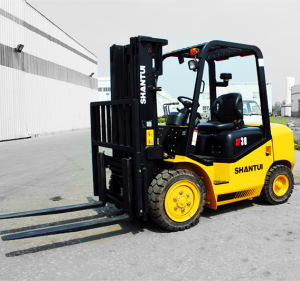Hot Sale 3000kg Diesel Forklift pictures & photos