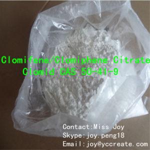 Clomid/ Clomifene Citrate/Clomiphene Citrate Anti Estrogen Steroid Powder CAS 50-41-9