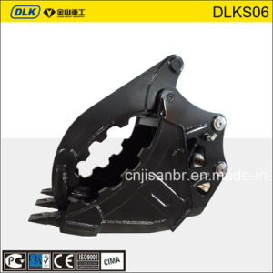 Hydraulic Excavator Fixed Type Rock Grab Bucket for 10tons Excavator pictures & photos