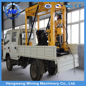 Trailer Water Well Drilling Rig for 100 Depth pictures & photos