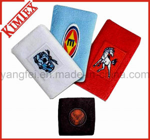 Unisex Promotion 100% Cotton Terry Sports Wristband pictures & photos