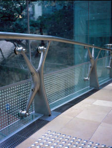 Stainless Steel Glass Balustrade for Public pictures & photos