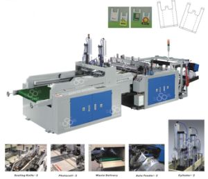 High Speed Automatic T-Shirt Bag Making Machine pictures & photos