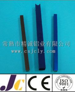 Black Anodized Aluminum Extrusion Profile (JC-P83027) pictures & photos