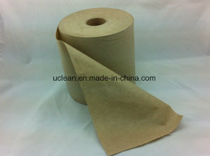 Hand Roll Paper Towel 800FT Kraft Paper pictures & photos