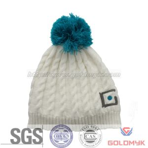 Cheap Winter Knitted Hats and Customed Embroidery (GKL-0030) pictures & photos