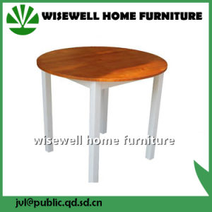 Wood Material Bi-Color Wooden Chair (W-C-0508) pictures & photos