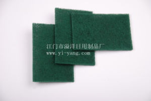 Nylon Kitchen Cleaning Scouring Pad (TJ4006) pictures & photos
