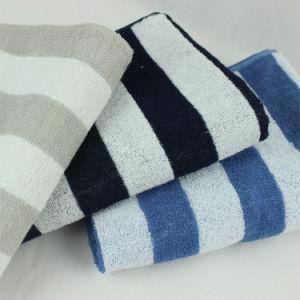 Cotton Stripe Bath Towel pictures & photos
