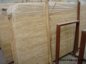 Polished Beige Travertine Big Slabs/Tiles pictures & photos