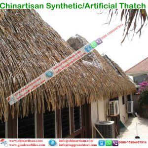Tropical Island Style Synthetic Resin Thatch Plastic Thatch pictures & photos