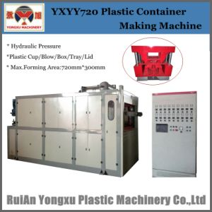 High Performance Good Quality Plastic Cup Tray Making Machine pictures & photos