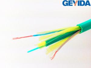 Hybrid Duplex Flat Fiber Optic Cable pictures & photos