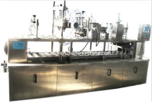 Automatic 3-1 Linear Icecream Filling Machine pictures & photos
