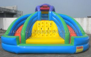 Inflatable Waterpark, Inflatable Fun Slide, Inflatable Aqua Slide, Slidy Bouncy pictures & photos