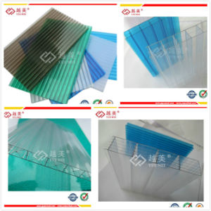 2mm 4mm 6mm 8mm Polycarbonate Plastic Building Material Sheet Ym-PC-20150205 pictures & photos